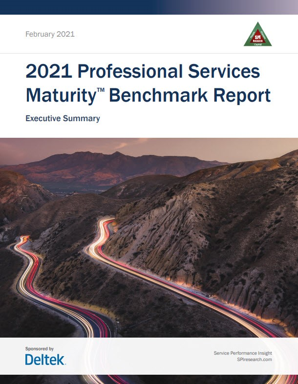 2021 Professional Services Maturity™ Executive Summary & Report