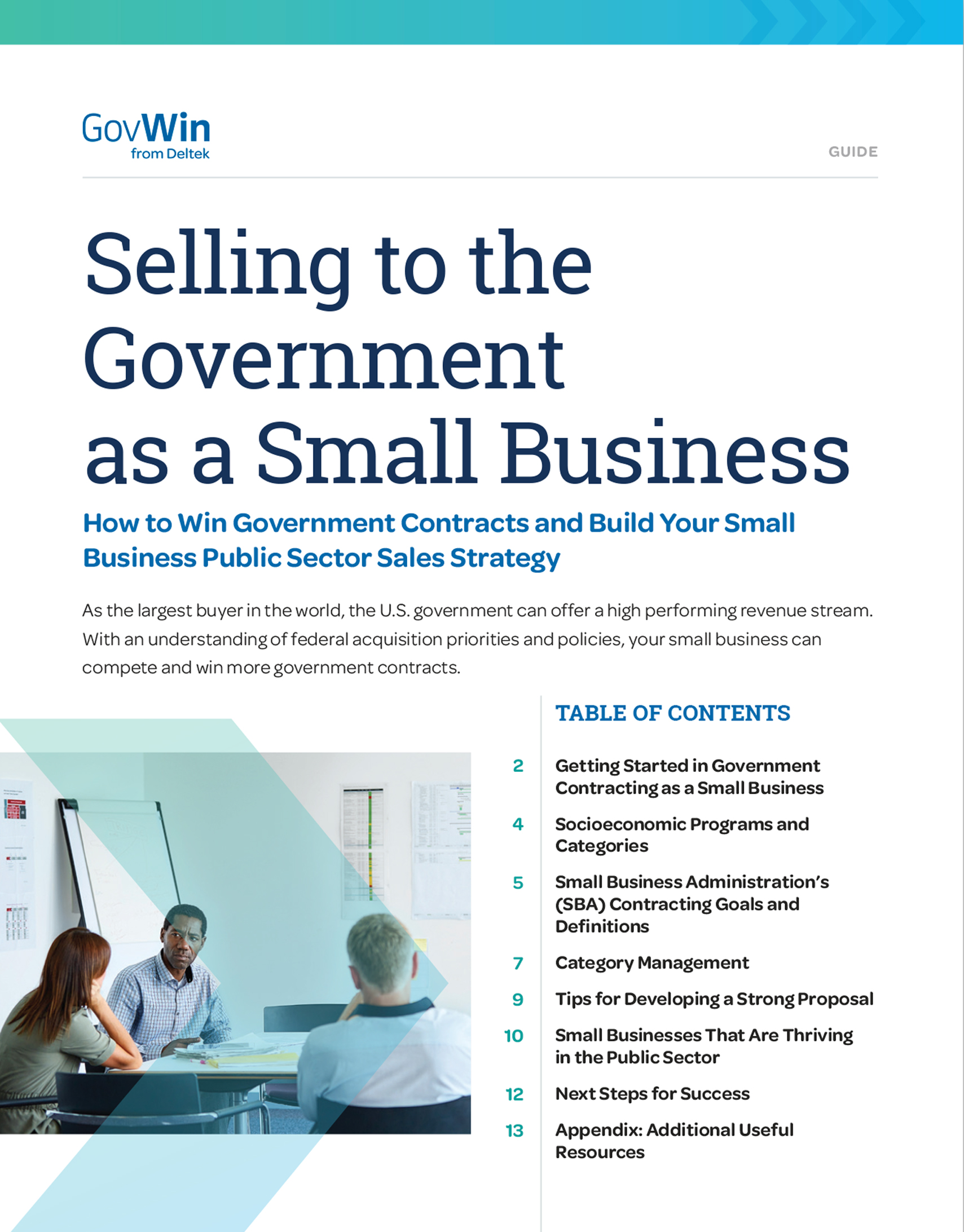 Selling to the Government as a Small Business