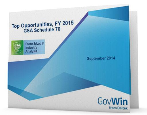 Top Opportunities FY2015 GSA Schedule 70