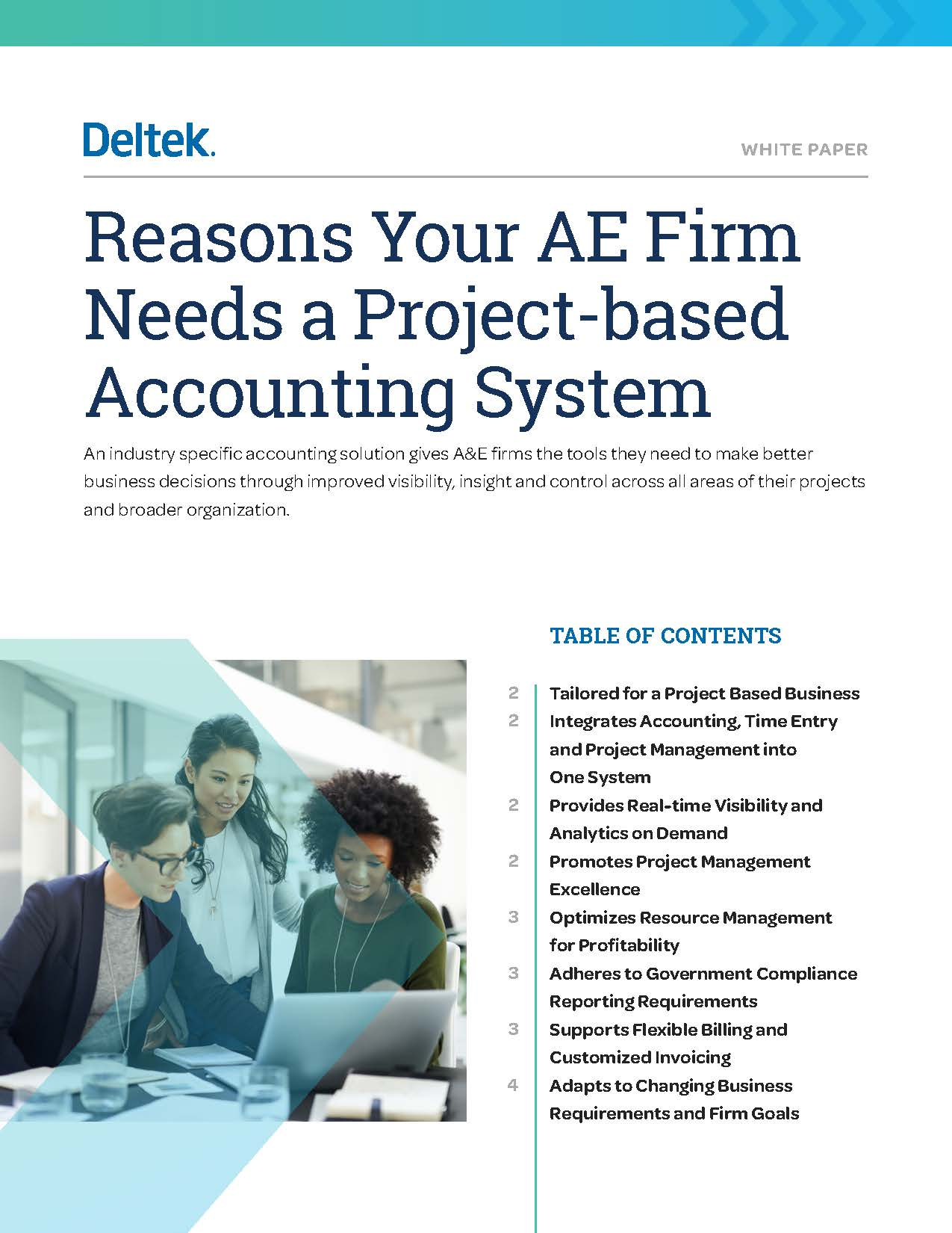 Reasons Your AE Firm Needs a Project-based Accounting System