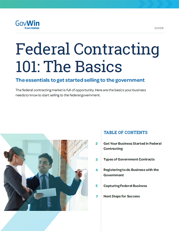 Fed Government Contracting 101