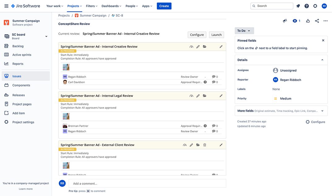 Manage Multiple Rounds With Review Chains
