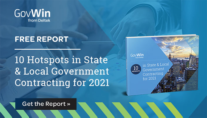 Report: 10 Hotspots in State & Local Government Contracting for 2021