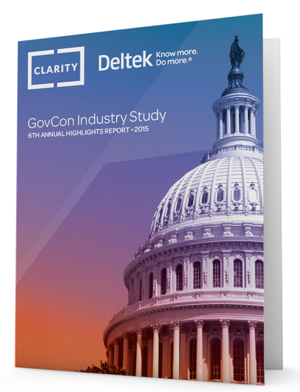 6th Annual Deltek Clarity GovCon Industry Study