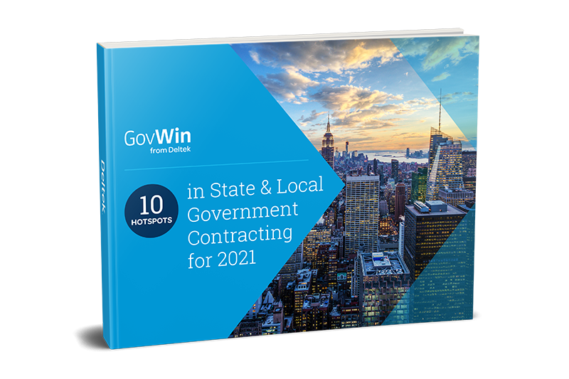 10 Hotspots in State &a Local Government Contracting for 2021