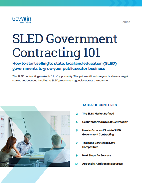 SLED Government Contracting 101