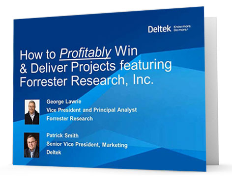 On Demand Webinar - How to Profitably Win & Deliver Projects featuring Forrester Research, Inc.