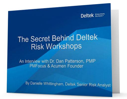 The Secret Behind Deltek Risk