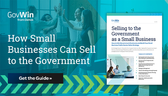 Guide: Selling to the Government as a Small Business