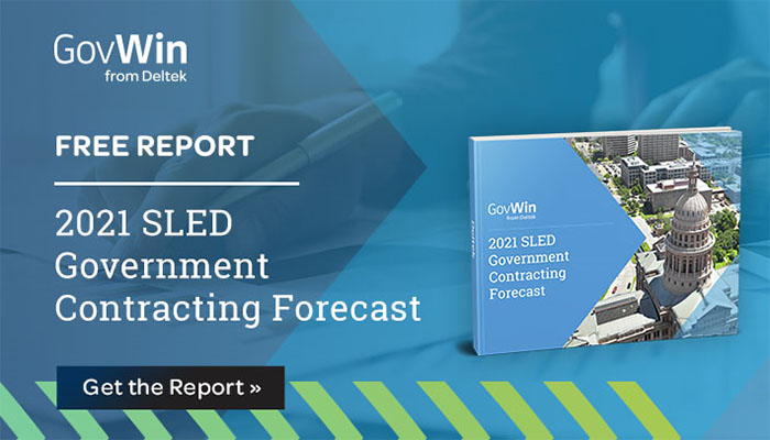 Report: 2021 SLED Government Contracting Forecast